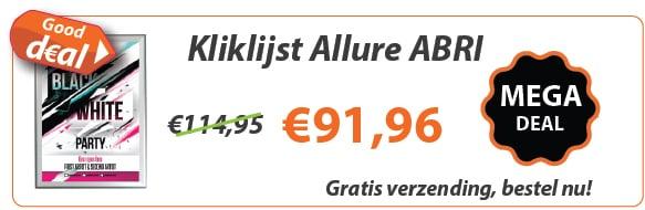 Kliklijst Allure ABRI 32mm actie
