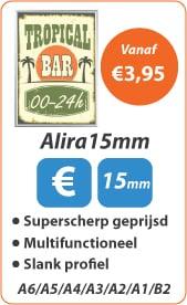 Kliklijsten Alira 15mm