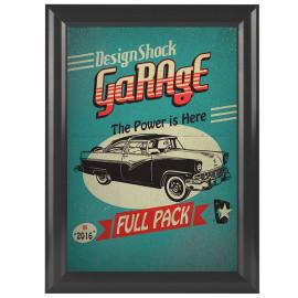 Kliklijst Essence Vintage Grijs A4 25mm