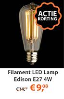 Filament LED Lamp Edison