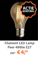 LED peer lamp 400lm E27
