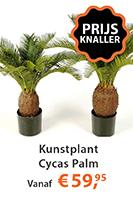 Kunstplant Cycas Palm