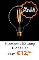 Filament LED Lamp Globe