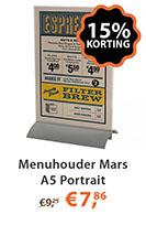 Menuhouder Mars A5 Portrait