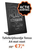 Tafelkrijtbordje Tenso A4