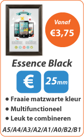 Kliklijsten Essence Black
