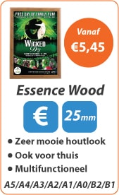 Kliklijsten Essence Wood