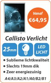 Kliklijsten Callisto Verlicht