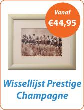 Wissellijst prestige champagne