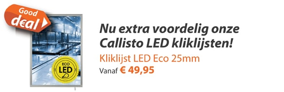 KKliklijsten LED Eco